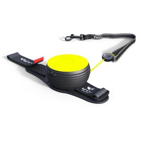 Lishinu Light Lock NEON (pro psy a kočky do 8kg) žlutá