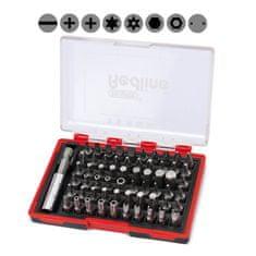 Draper Tools kovček z nastavki Redline, 61-delni