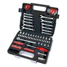 Draper Tools kovček z orodjem Redline, 107-delni
