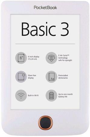 PocketBook czytnik 614+ Basic 3 (PB614W-2-D-WW)