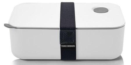 Yoko Design Desiatový box na jedlo 1l biela