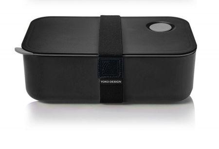Yoko Design Svačinový box na jídlo 1l černá