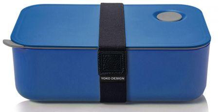 Yoko Design Desiatový box na jedlo 1l modrá