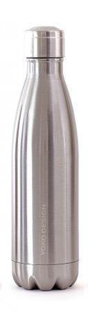 Yoko Design termo steklenica, 500 ml, srebrna