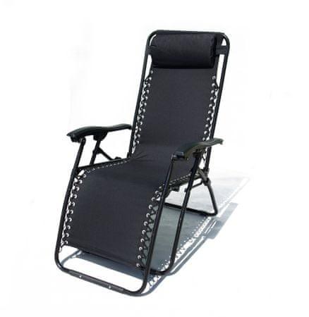 Rojaplast stol 2320 OXFORD, črn