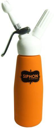 Yoko Design butelka do bitej śmietany 500 ml, pomarańczowa