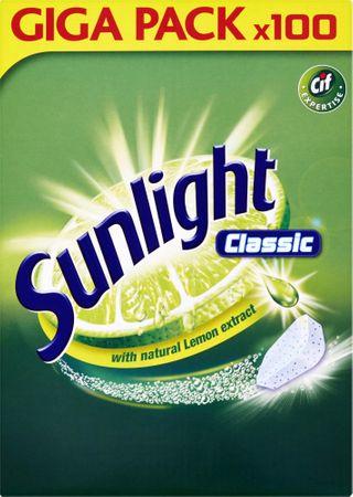 Sunlight Classic mosogatógép tabletta, 100 db