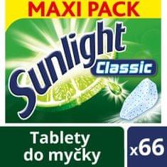Sunlight Classic Tablety do umývačky riadu 66 ks