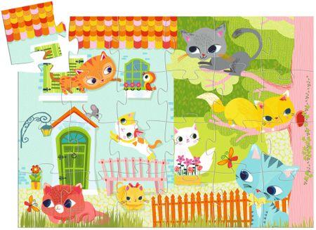 Djeco Puzzle Malé Kotě
