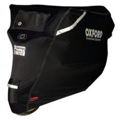 Oxford pokrivalo za motor Protex Stretch, črno, XL