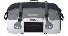 Oxford nepremočljiva torba Roll Bag, belo-siva