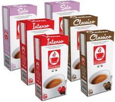 Tiziano Bonini Nespresso kávéfőzőbe alkalmas Mix pack kapszula készlet, 10 db, 6 csomag