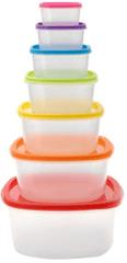 Ceramic Blade plastične kutije za hranu, 7 komada