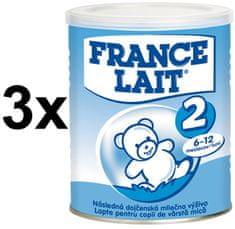 France Lait 2 - 3x400g