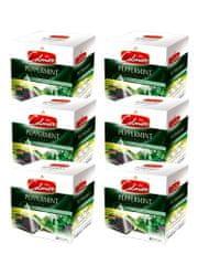 Celmar zeliščni čaj Peppermint, 20 piramidnih vrečk 6 paketov