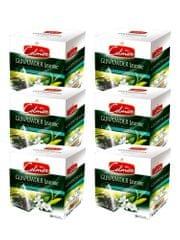 Celmar zeleni čaj Gunpowder Jasmine, 20 piramidnih vrečk 6 paketov