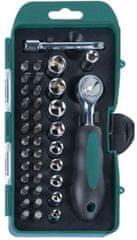 Mannesmann Werkzeug set nasadnih ključeva i nastavaka za odvijanje, 38 komada
