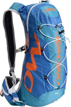 One Way Hydro Back Bag 15L Blue-Orange hátizsák