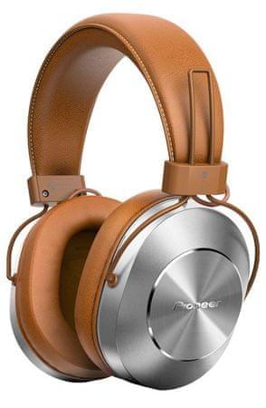 Pioneer brezžične slušalke SE-MS7BT, rjave