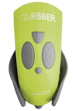 Globber LED-svetilka z zvočnimi efekti Mini Hornit, zelena
