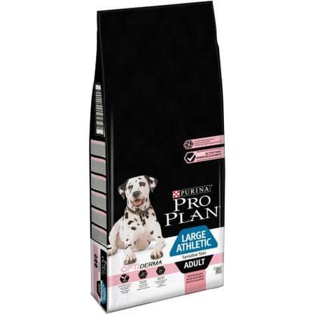 Purina Pro Plan Large Adult Athletic Sensitive Skin OPTIDERMA 14 kg