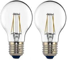 Tesla LED žárovka CRYSTAL RETRO BULB, E27, 4W 2pack