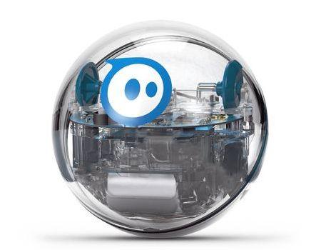 Sphero SPRK+ - inteligentní koule, dálkově ovládaná hračka - průhledná