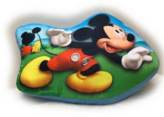 Jerry Fabrics tvarovaný vankúš Mickey