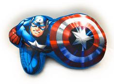 Jerry Fabrics tvarovaný vankúš Avengers