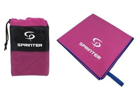 Sprinter Ručník z mikrovlákna 70x140 cm růžový