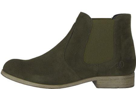 s.Oliver dámská kotníčková obuv 40 khaki