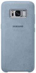 SAMSUNG Alcantara tok (Samsung Galaxy S8), szürke