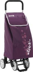 Gimi Nákupná taška na kolieskach Twin 56 l, fialová