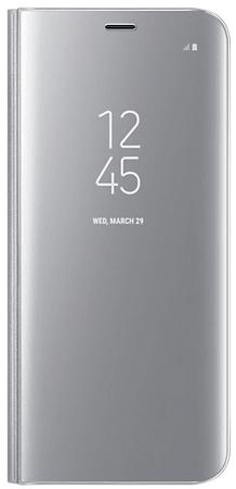 Samsung preklopna torbica Clear View EF-ZG950CSE za Samsung Galaxy S8, srebrna