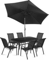 Fieldmann meble ogrodowe MONA 6 z parasolem
