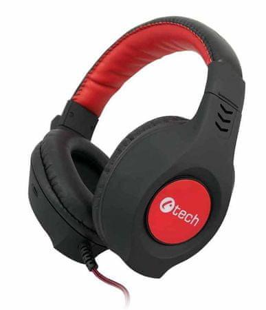 C-Tech Nemesis V2 (GHS-14R), fekete-piros
