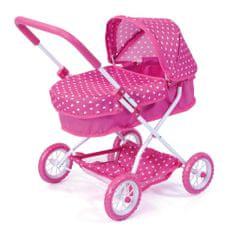 Bayer Design Ružový kočík pre bábiky Smarty