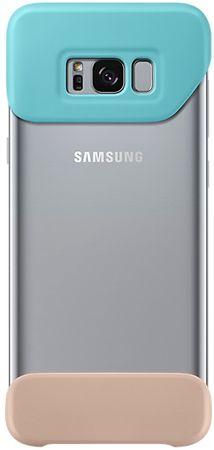 SAMSUNG Két részes védőtok (Samsung Galaxy S8 Plus), világoskék