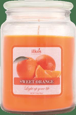Ilkos Vonná svíčka Sweet Orange, velká