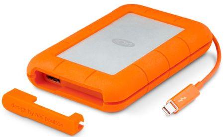 "LaCie zunanji disk Rugged 2 TB, 6,35cm(2,5""), Thunderbolt, USB-C 3.0"