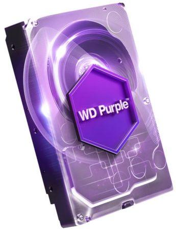WD trdi disk Purple 4TB (WD40PURZ), Intellipower, 64MB