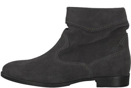 Tamaris dámská kotníčková obuv Lia 38 sivá