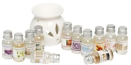 Toro set aroma svetilke in 12 eteričnih olj