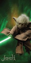 Jerry Fabrics ręcznik Gwiezdne Wojny Yoda 70x140 cm