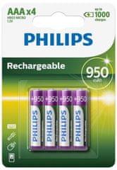 Philips punjive baterije Ni-mH Blister AAA, 4 komada