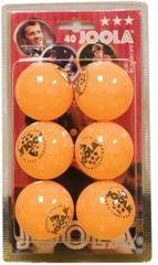 Joola žogice za namizni tenis Rossi, 6 kosov, oranžne
