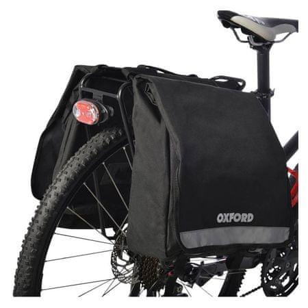 Oxford kolesarska torba za prtljažnik Laterali, 20 l