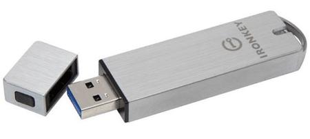 Kingston pametni USB ključ 8GB IronKey S1000 (IKS1000B/8GB)