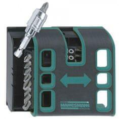 Mannesmann Werkzeug set 18 bitova s magnetnom kutijom za pojas