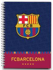 FC Barcelona bilježnica sa spiralom 80L 80G